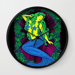Song of the Siren, Neon Blacklight Wall Clock