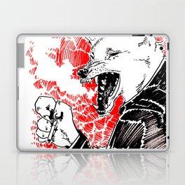 smoke wolf Laptop & iPad Skin
