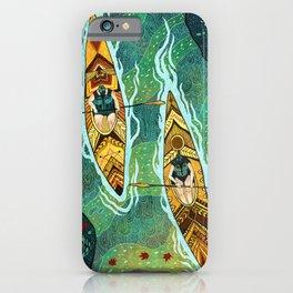 Kayaking iPhone Case