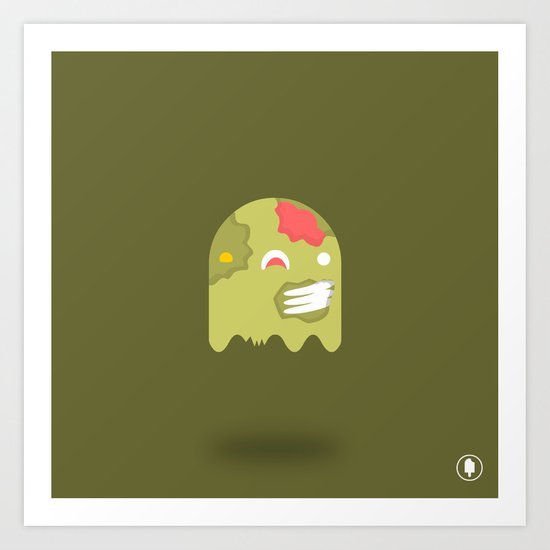 Zom-Boo Art Print
