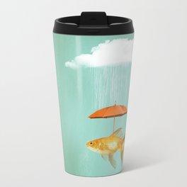 Fish Cover II Metal Travel Mug