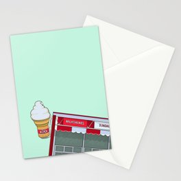 Winnipeg Bridge Drive-In (BDI) Stationery Cards
