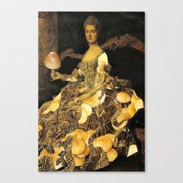 Mushroom Lady Canvas Print