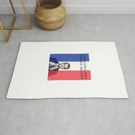 Macron Make Our Planet Great Again Rug