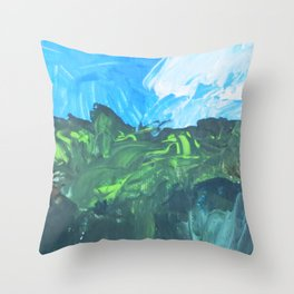 French Fields Throw Pillow