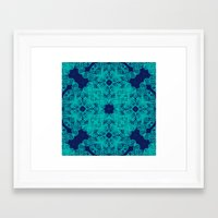 wild things Framed Art Prints featuring Wild Things by monasita