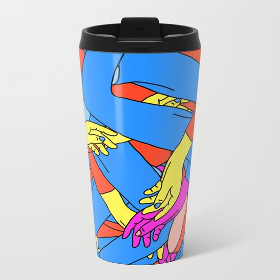 Transferral Race Metal Travel Mug