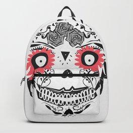 sugar skull mask Backpack