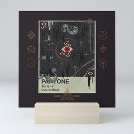 Cosmic Black Mini Art Print