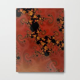 Fanning The Flames Metal Print
