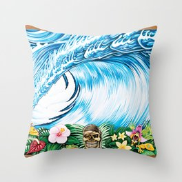South Pacific Beast Throw Pillow