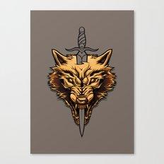 Golden: Survivor  Canvas Print