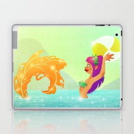 Summertime Mermaid Laptop & iPad Skin
