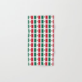 Flag of mexico 2- mexico,mexico city,mexicano,mexicana,latine,peso,spain,Guadalajara,Monterrey Hand & Bath Towel