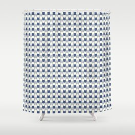 Patterns Geometric Curves Shower Curtain
