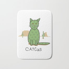 """""""Catcus"""" Cactus Bath Mat"""