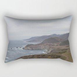 The Bixby Bridge on the California Coast Rectangular Pillow