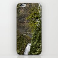 portlandia iPhone & iPod Skins featuring Water //  Fall by Juan Joel Arce