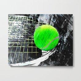 Tennis art print work 16 Metal Print