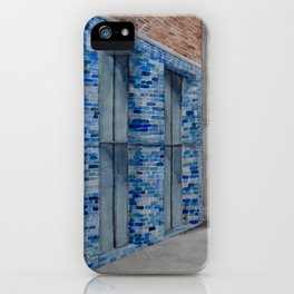 Blue Tiles iPhone Case