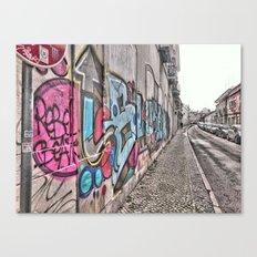 Faro street, Portugal. Portugal Series  Canvas Print