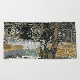 Garden Forest Beach Towel