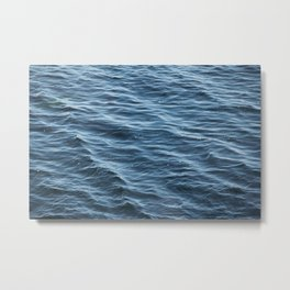 Ocean Wave Pattern 1 Metal Print