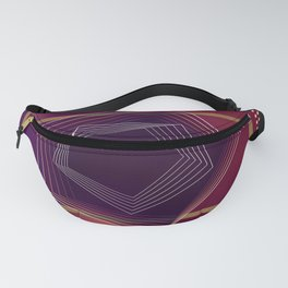 """"""" Wine time """" luxury Fanny Pack"""