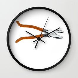 Plies Stick Tool Having Pair Pivoted Jaws Package Wall Clock