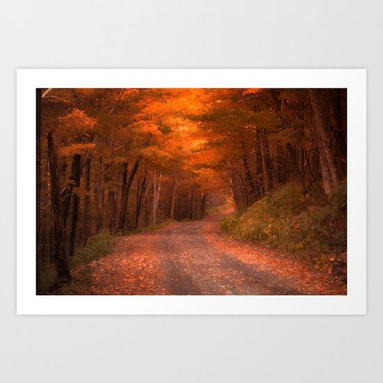 Autumns Passage Art Print