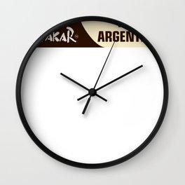 Dakar Rally Racing 2016 Wall Clock