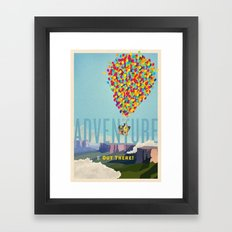 UP - Adventure Is Out There! Framed Art Print