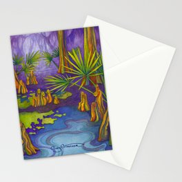 Cypress Twilight Stationery Cards