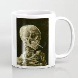 Vincent van Gogh - Skull of a Skeleton with Burning Cigarette Coffee Mug