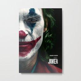 Joker Movie Poster, Joaquin Phoenix Poster, Movie Poster Printable Wall Art, Digital Downloads, Home Decor Wall Art, High Quality Photo Metal Print