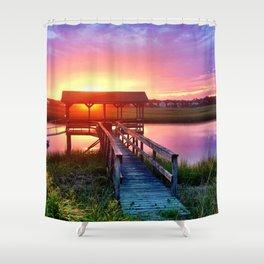 Litchfield Sunset Shower Curtain