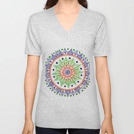 Mandala Creation #3 Unisex V-Neck