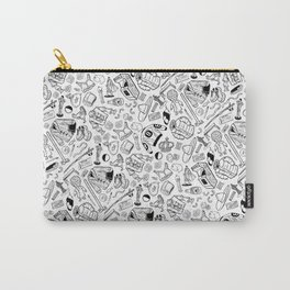 Seinfeld Pattern (White Background) Carry-All Pouch
