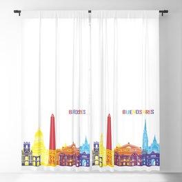 Buenos aires skyline pop Blackout Curtain