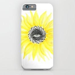 The Sunflower Eye iPhone Case