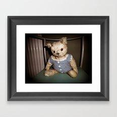 Old Bear Framed Art Print
