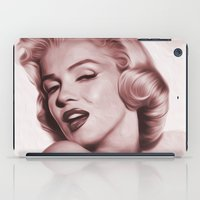 marilyn iPad Cases featuring Marilyn  by Jason Michael