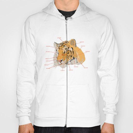 Tiger Colors Hoody
