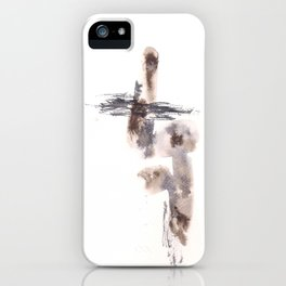 The Warrior for Justice - 151124  Abstract Watercolour iPhone Case