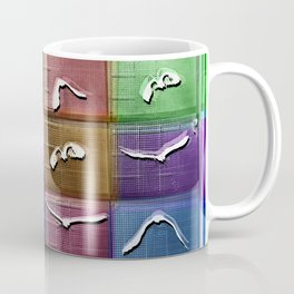 Time Lapse Motion Study Bird Color Coffee Mug