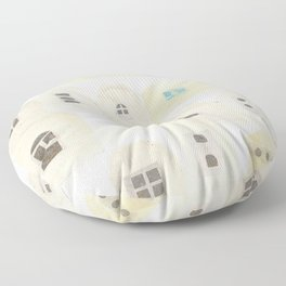 A residential area Floor Pillow