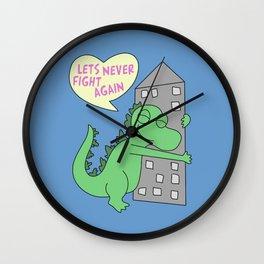 goodzilla Wall Clock