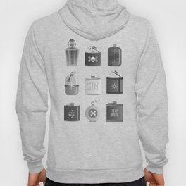 Flask Collection – Black Palette Hoody