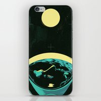 kansas iPhone & iPod Skins featuring Not In Kansas Anymore by Señor Salme