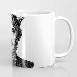 Babies riding on a fish from Three Sunsets And Other Poems WIth Twelve Fairy-Fancies Coffee Mug